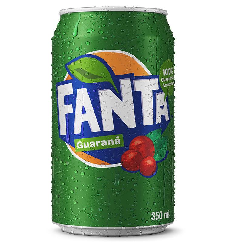 Depois de apresentar nova identidade visual, Fanta anuncia sabor guaraná