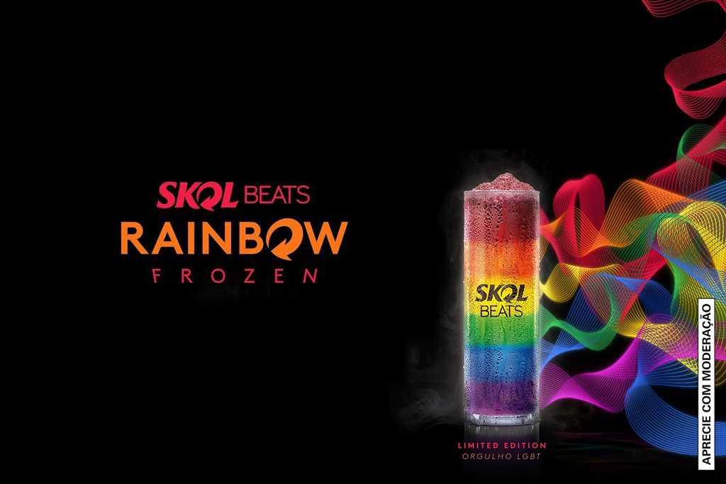 Skol Beats Rainbow Frozen LGBT