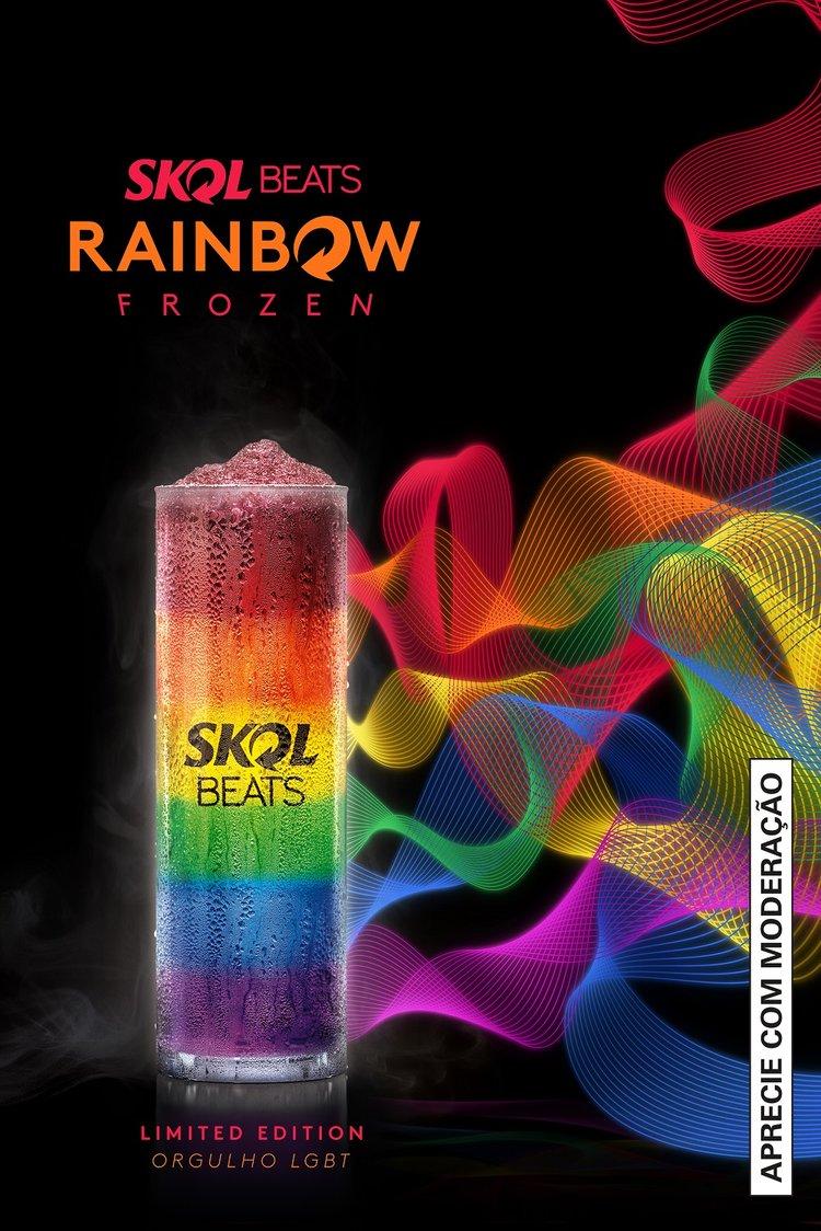 Skol Beats Rainbow Frozen