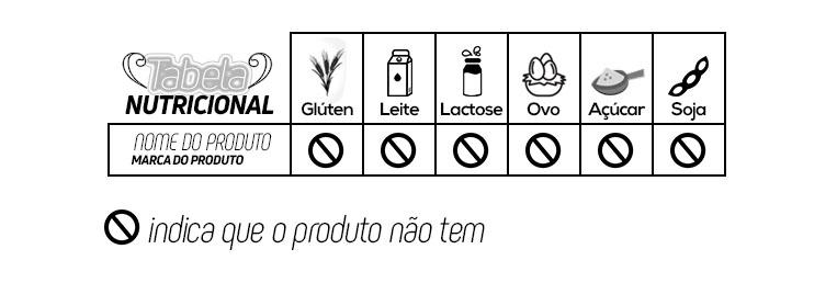 Tabela GlutenFree Box